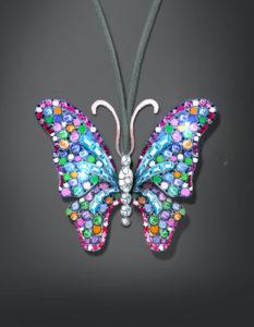 Pendentif butterfly